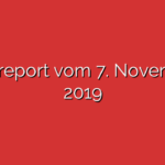 Ratsreport vom 7. November 2019
