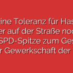 """""""Keine Toleranz für Hass – weder auf der Straße noch im Netz"""" SPD-Spitze zum Gespräch bei der Gewerkschaft der Polizei"""